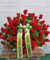 빨강장미 꽃바구니 엔젤