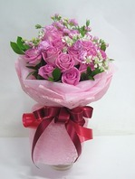 수줍은고백(꽃다발)